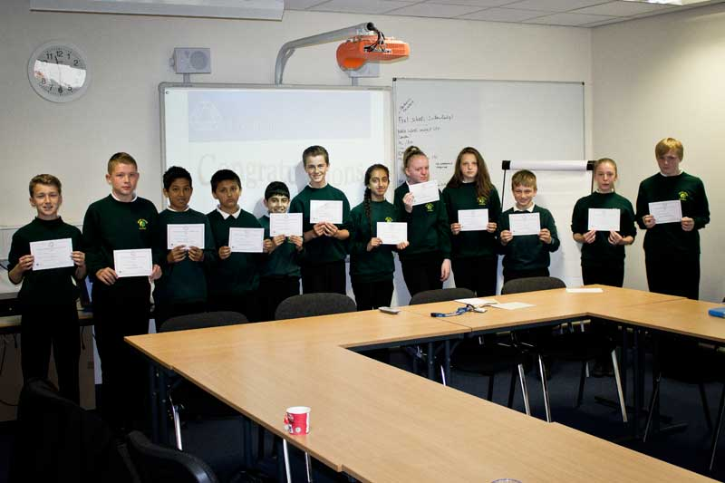 junior maths challenge success