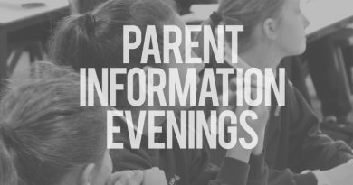 Parent Information Evenings