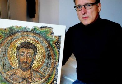 'Indiana Jones of art' finds stolen Cyprus mosaic