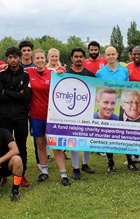 Smile for Joel Student Vs. Teachers Football Match